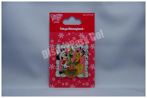 クリスマス・ファンタジー2012のピンバッチ