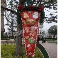 クリスマス・ファンタジー2012の街灯バナー(赤)
