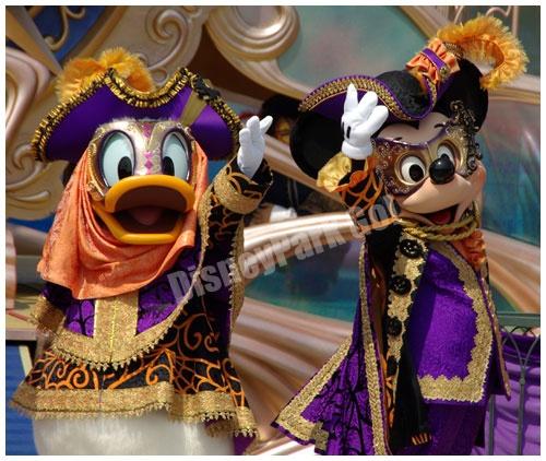 マスクミッキーとマスクドナルド