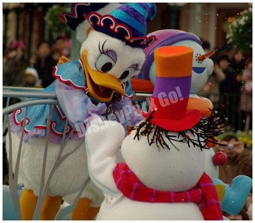 雪だるまとデイジー