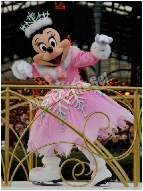 ホワイトホリデーパレードのミニー