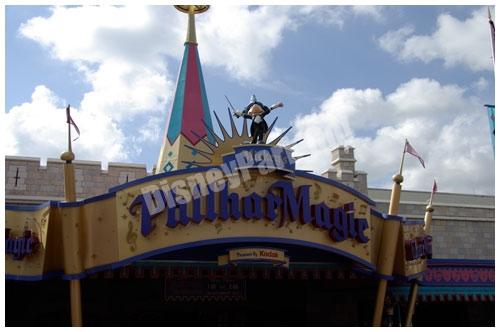 ウォルト・ディズニー・ワールドのミッキーのフィルハーマジック入り口