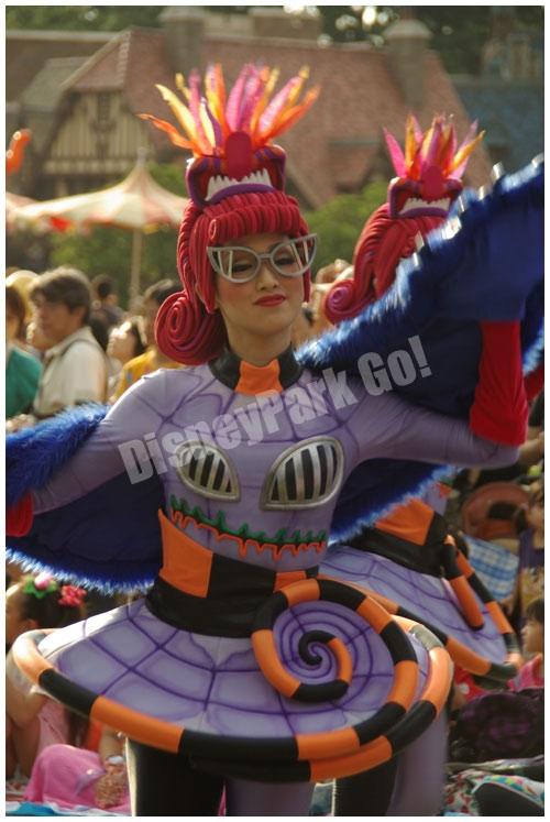 ウェルカム・トゥ・スプーキーヴィルの女性ダンサー(スティッチユニット)