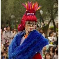 ウェルカム・トゥ・スプーキーヴィル女性ダンサー(スティッチ)