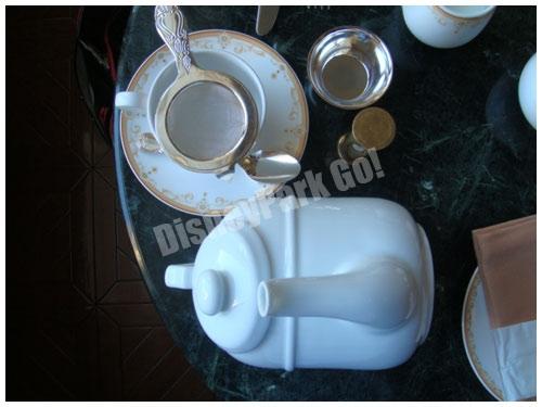ドリーマーズ・ラウンジの高級紅茶