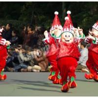 ディズニー・サンタヴィレッジ・パレードのエルフ