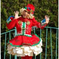 ディズニー・サンタヴィレッジ・パレードのダンサー(第1グループ女性)