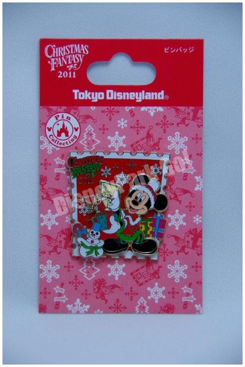 クリスマス・ファンタジー2011のピンバッチ