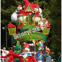 ディズニー・サンタヴィレッジ・パレードのドナルドフロート