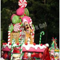 ディズニー・サンタヴィレッジ・パレードのプルート