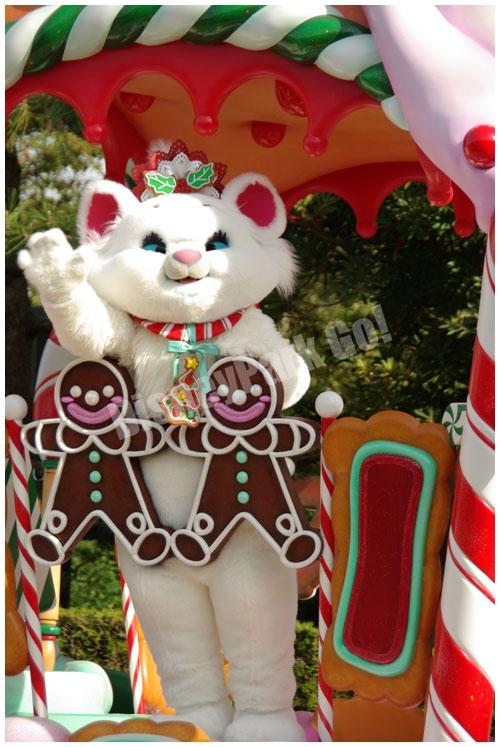 ディズニー・サンタヴィレッジ・パレードのマリー