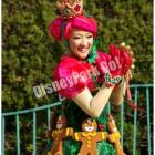ディズニー・サンタヴィレッジ・パレードの ダンサー(真ん中らへん)