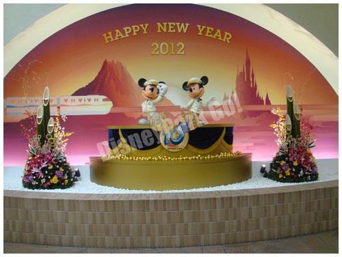 リゾートゲートウェイのお正月オブジェ2012