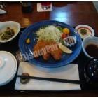 レストラン櫻の豚ヒレ肉のカツレツ