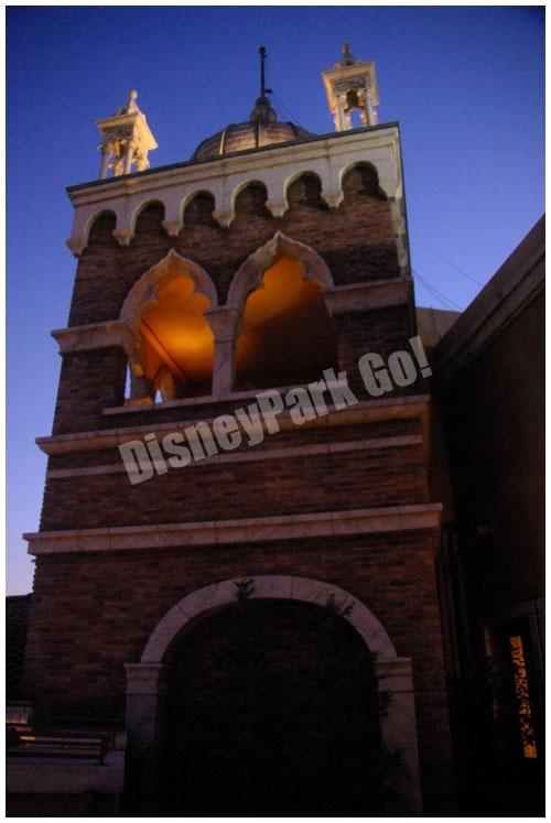 東京ディズニーシー・ホテルミラコスタのヴェネツィア・サイドの夜景
