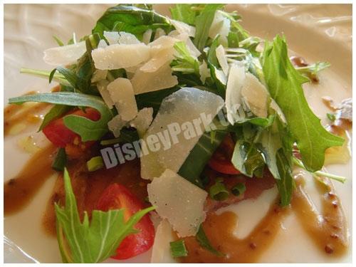 本日の鮮魚のカルパッチョ バルサミコ・マスタードソース