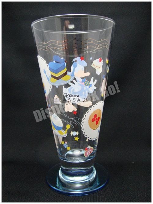 ドナルドのコレクタブルグラス(クリアガラスバージョン)