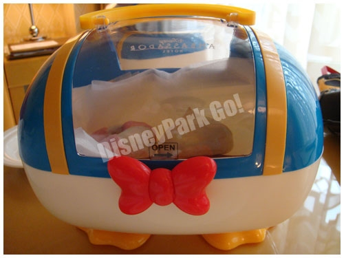 「ドナルドダックルーム」スペシャルブレックファストのランチボックス
