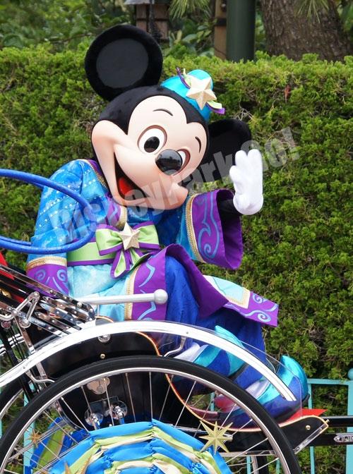 2012七夕のミッキー