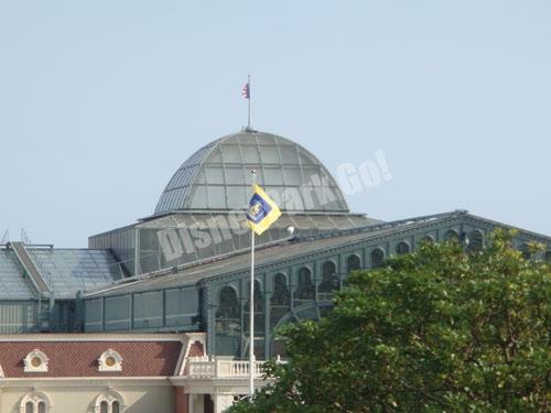 東京ディズニーランドの旗