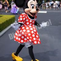 東京ディズニーランド、エントランスグリーティングのミニー