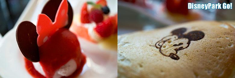 スイート&テイスティ・デイズ パンケーキセットのアイスとパンケーキ