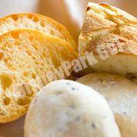 ベッラヴィスタ・ラウンジのパン3種類