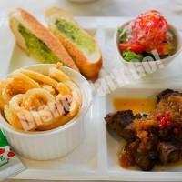 プラザパビリオン・レストラン「ディナーセット」