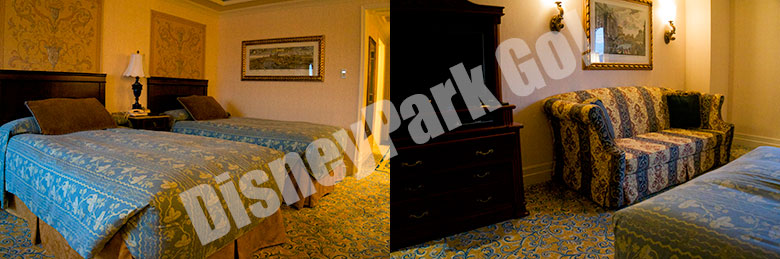 ホテル・ミラコスタのお部屋