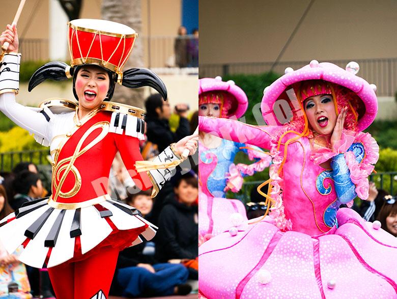 ハピネス・イズ・ヒアのダンサー(太鼓&クラゲ)