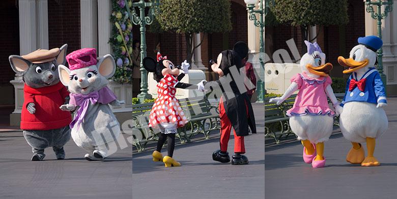 ディズニーのカップル