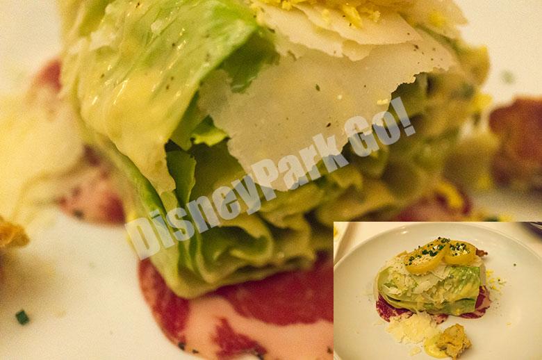 ヨットマン・ステーキハウスのシーザーサラダ