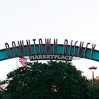 ダウンタウン・ディズニーのマーケットプレイス in ウォルト・ディズニー・ワールド