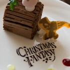"""""""クリスマス・ファンタジー2014"""" アフタヌーンティーセットとドリーマーズ・ラウンジ サンドウィッチセット"""
