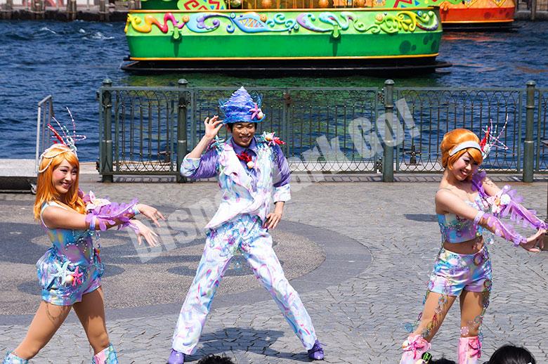 マーメイドラグーンのダンサー
