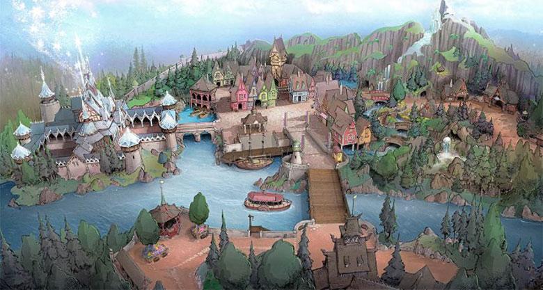東京ディズニーシー「北欧」をテーマとした新テーマポートイメージ図