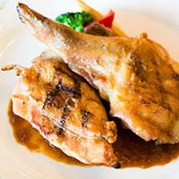 SSコロンビアの単品メニュー、鶏のグリル編