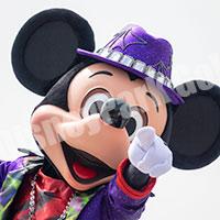 ハロウィーン・ポップンライブ2016初見のミッキー