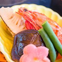 レストラン櫻の「ニューイヤースペシャルセット」