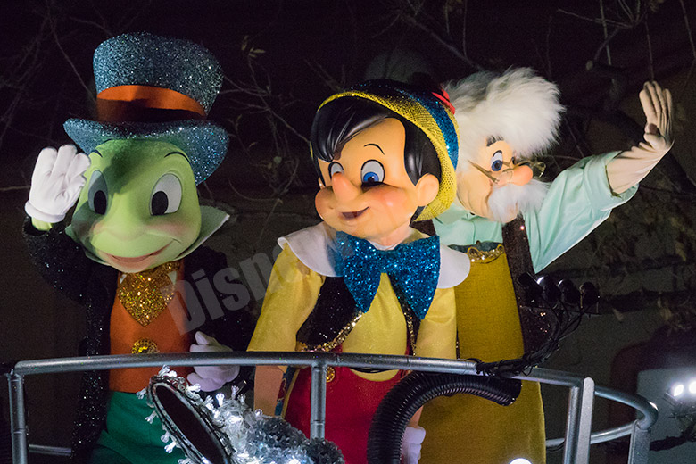 ザ・ムーン(ピノキオ、ジミニー、ゼペット)