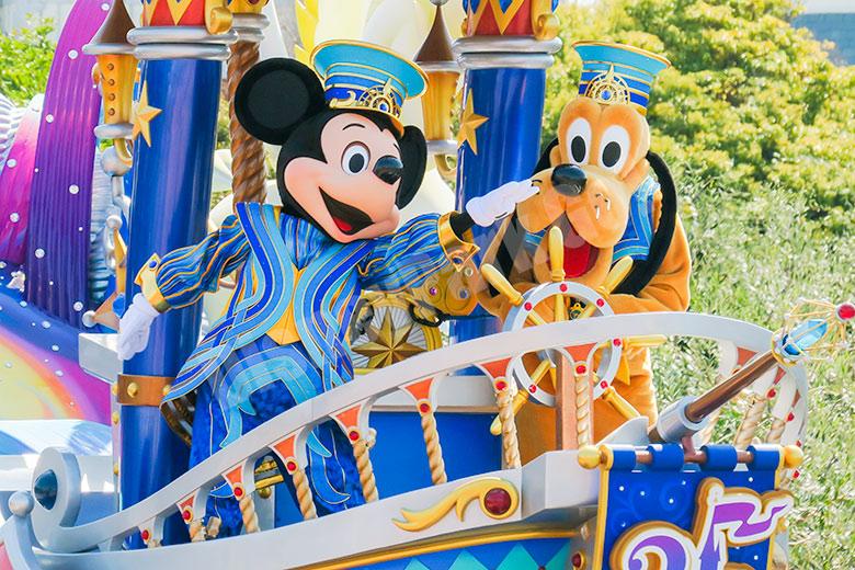 Dreaming Up! のミッキーとプルート